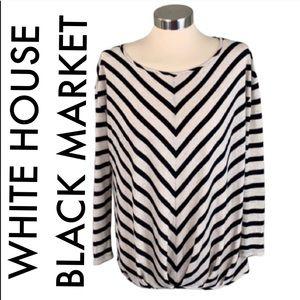 👑 WHITE HOUSE BLACK MARKET TOP 💯AUTHENTIC